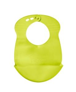 Tommee Tippee Explora rolovaci plastovy bryndak (svetle zeleny) a
