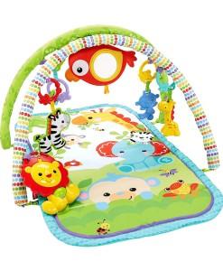 Fisher-Price hraci deka s hrazdou Rainforest 3v1 a
