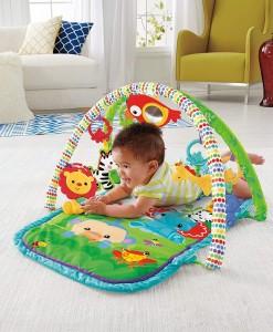 Fisher-Price hraci deka s hrazdou Rainforest 3v1 b