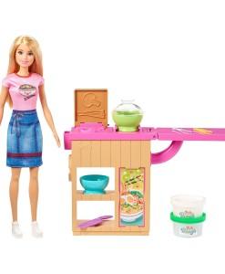 Mattel Barbie panenka a asijska restaurace a