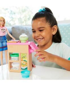 Mattel Barbie panenka a asijska restaurace b
