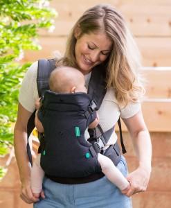 Infantino nositko Flip Advanced 4v1 (cerne) b