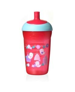 Tommee Tippee Explora netekouci sportovni lahev, 12m+, 360 ml (cervena) a