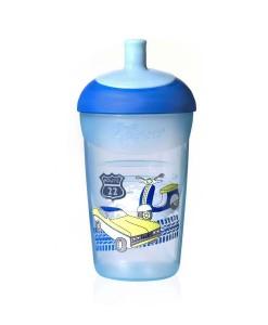 Tommee Tippee Explora netekouci sportovni lahev 12m+, 360 ml (modra) a