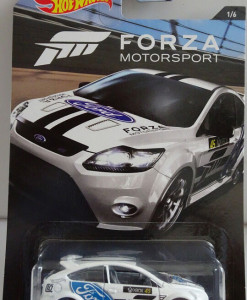 Hot Wheels Forza Motorsport auto Ford 09 Focus RS a
